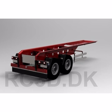 2 aksel trailer Scale-parts